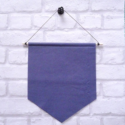 Indigo :: Handmade banner for you to decorate