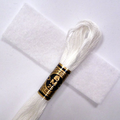 DMC Embroidery Thread :: White (BLANC)