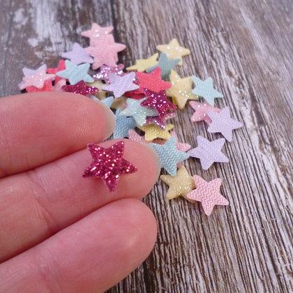 Mini Glitter Stars :: Pack of 50