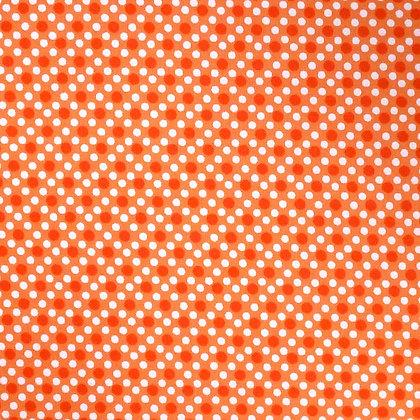 SALE Fabric :: Dim Dots :: Orange