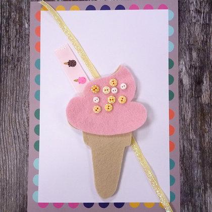 99 Ice Cream Pale Pink & Sprinkles  Ingredients Pack