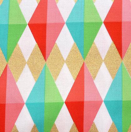 SALE Fabric :: Holiday Deeries :: Diamonds