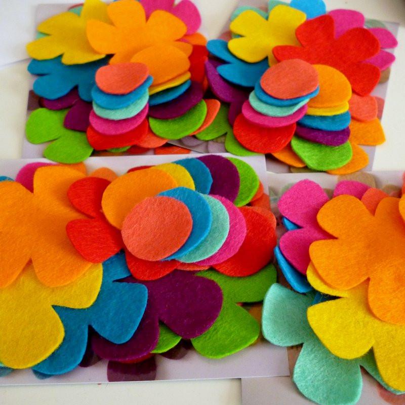 handcut flowers