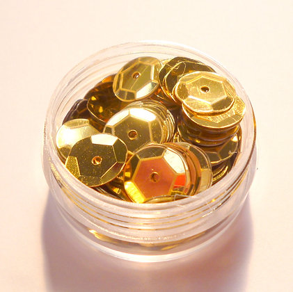 10mm Sequins :: Gold