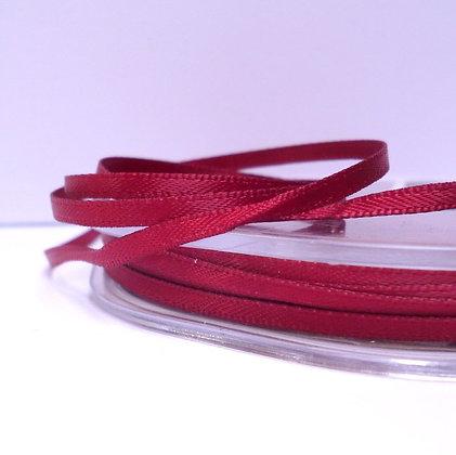 Claret :: 3mm Mini Satin Ribbon :: 5m