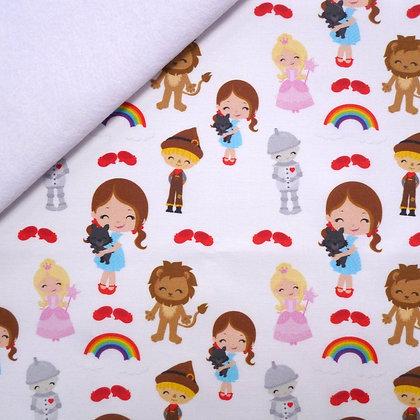 Artisan Fabric Felt :: Dorothy & Friends on White