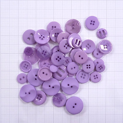 Dyed Buttons By Weight :: Lilac