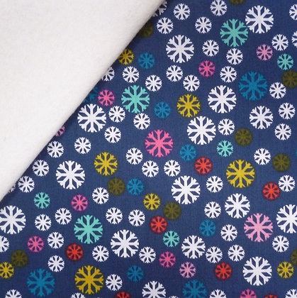 Fabric Felt :: Merry and Bright :: Blizzard on Natural LAST FEW