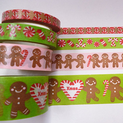 Christmas Washi Mix Pack :: Gingerbread