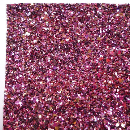 Chunky Glitter sheet :: Mixed :: Raspberry Crush