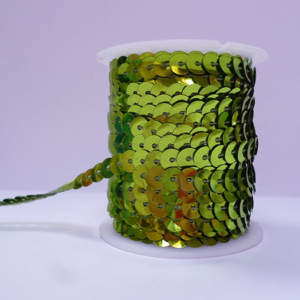 Sequins On A Spool :: Lime Green