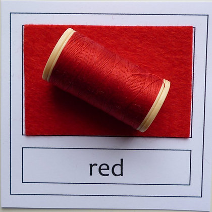 Sewing Thread :: Red