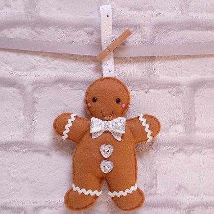 Handmade :: Gingerbread :: Mr. Sparkle Bow