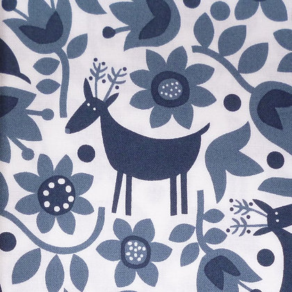 Fabric :: Snow Forest :: Reindeer