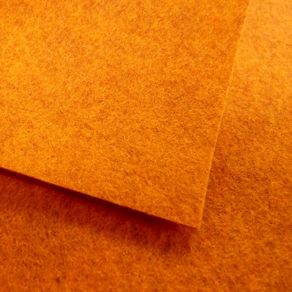 Marmalade - Heathered Felt - cut from the roll