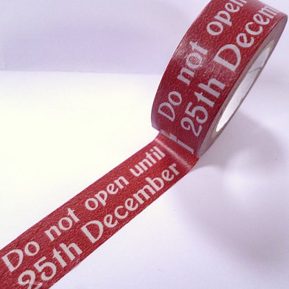 Washi Tape roll :: Do Not Open