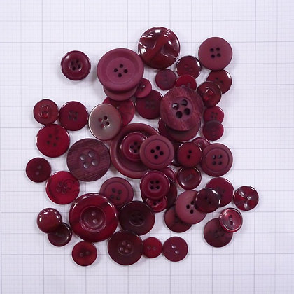 Dyed Buttons By Weight :: Burgundy