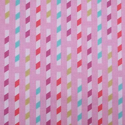 Fabric :: Sodalicious Strawberry Straws