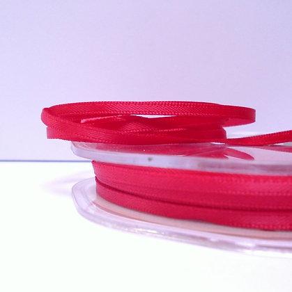 Deep Cerise :: 3mm Mini Satin Ribbon :: 5m