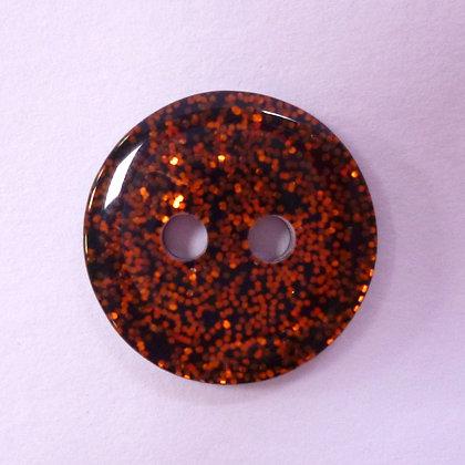 Colour Glitter Buttons :: SMALL :: Orange