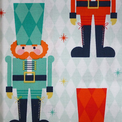 Fabric :: Nutcracker :: Large Soldiers