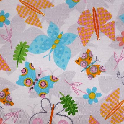 Fabric :: Jump Into Fun :: Spring Butterflies