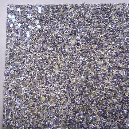Chunky Glitter sheet :: Magical :: Lilac/Grey