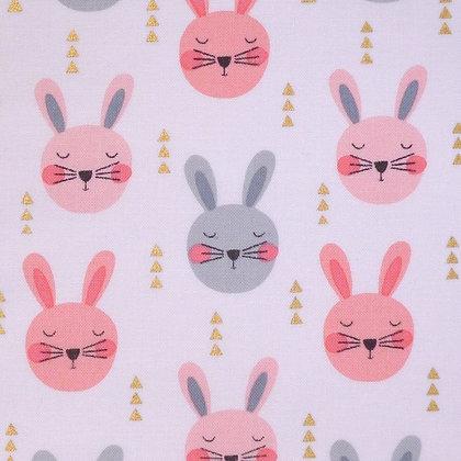 Fabric :: Ruminating Rabbits