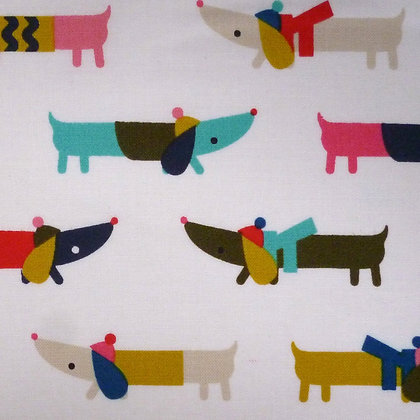 FQ SALE Fabric :: Merry and Bright :: Dogs FAT QUARTER