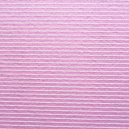Stripe Felt Square :: PALE PINK