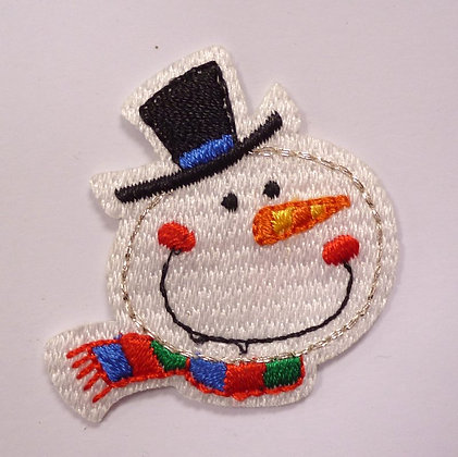 Embroidered Motif :: Cute Christmas :: Snowman