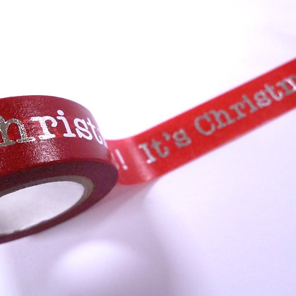 Washi Tape Roll :: It's Christmas!