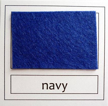 """Die Cut Pack :: 1"""" circles :: Navy"""