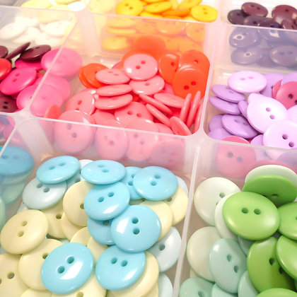 Dyed Pick & Mix Buttons :: Large