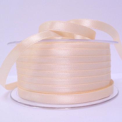 7mm Satin Ribbon :: Ivory (050)