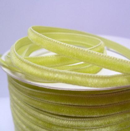 3mm Velvet Ribbon :: Lime