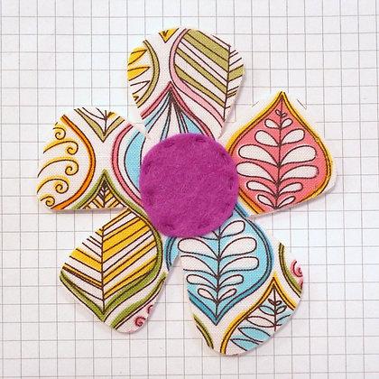 Leaves :: Large Flower :: Handmade Embellishment