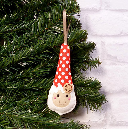 Dots Nordic Santa (Scandi) Christmas Decoration Kit