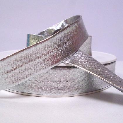 Metallic Bias Binding :: Silver