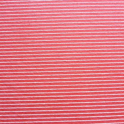 Stripe Felt Square :: CORAL