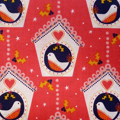 Fabric :: Merry Little Christmas :: Bird Houses