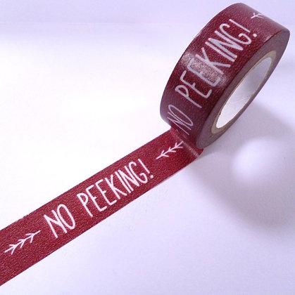Washi Tape Roll :: No Peeking