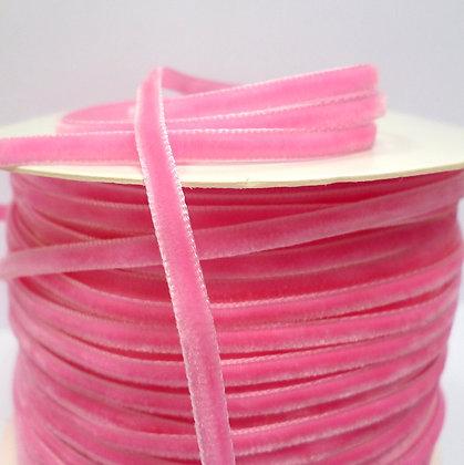 3mm Velvet Ribbon :: Bright Pink