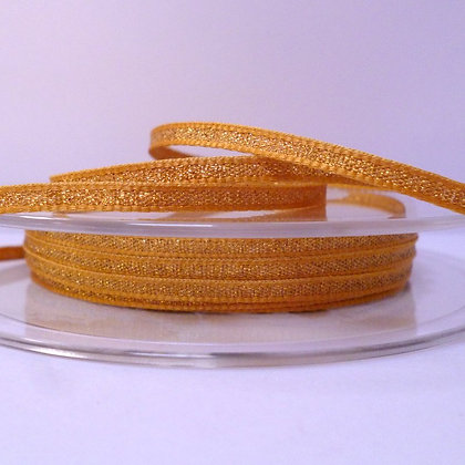 Lame Ribbon :: 3mm Gold