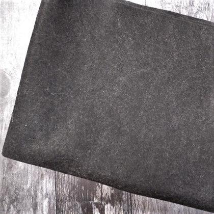 Acrylic Heathered Felt :: 45cm x 100cm :: Charcoal