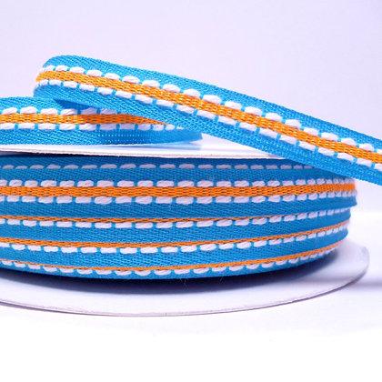Double Stitch Ribbon :: Blue