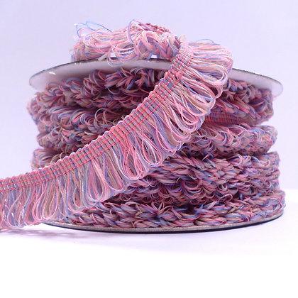 Loopy Trim :: Pink Rainbow