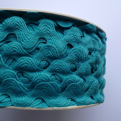Cotton Feel Large Ric Rac :: Turquoise