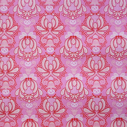 Fabric :: Vienna :: Pink Flourishes