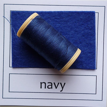 Sewing Thread :: Navy